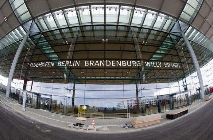 De nieuwe luchthaven
