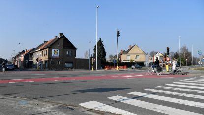 Oversteek voor voetgangers op N41