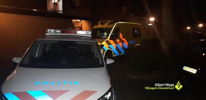 Een man werd bij een beroving in Capelle aan den IJssel een gebroken kaak geslagen