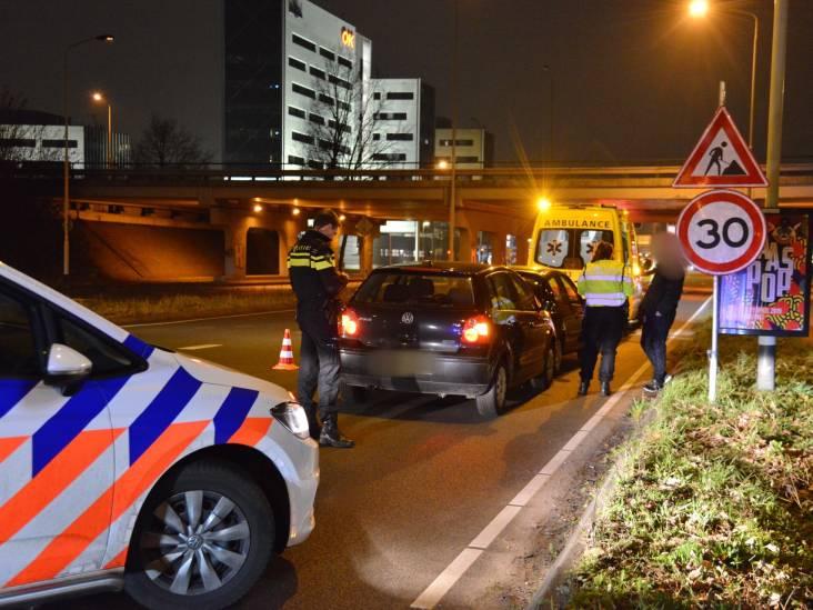 Kop-staartbotsing op Claudius Prinsenlaan in Breda