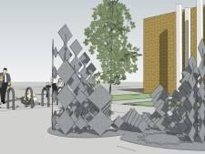 Nieuw kunstwerk in Schiedamse wijk Nieuwland