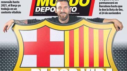 Tekent Messi straks een contract voor het leven bij FC Barcelona?
