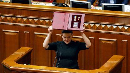 Oekraïense heldin Nadiya Savtsjenko gearresteerd op verdenking van staatsgreep