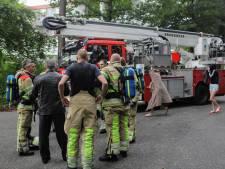 Brandweer rukt uit voor brandoefening in Bosch en Duin