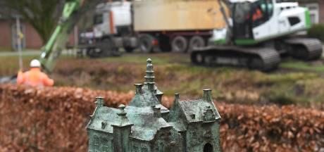 Nu slib afgraven tegen stank: kasteelgracht Oploo gaat over paar jaar weer stromen