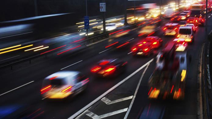 stockbd rijden verkeer file weg