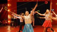 Kinderen ontpoppen zich tot circusartiesten
