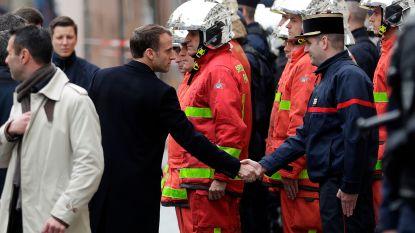 Crisisvergadering na rellen in Parijs: Macron wil ontmoeting met vertegenwoordigers gele hesjes en bezoekt beschadigde Arc de Triomphe
