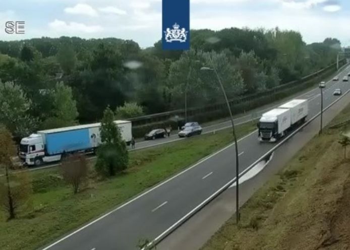 Ongeluk bij Veldhoven.