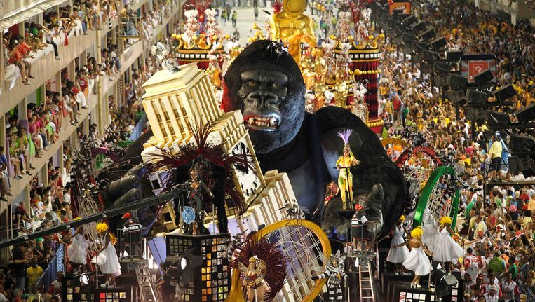 Carnaval in Rio Beeld REUTERS