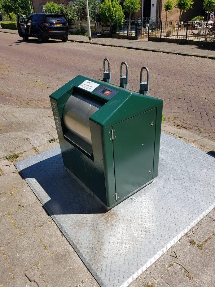 Ondergrondse afvalcontainer. Foto ter illustratie.