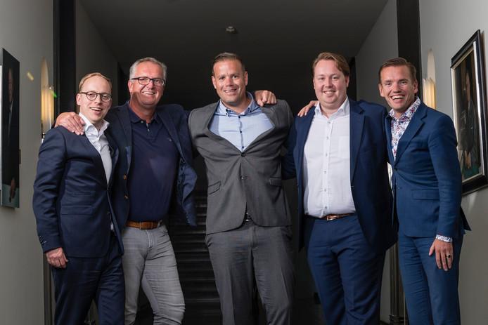 De nieuwe wethouders van Enschede