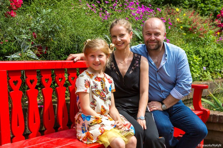 Rosalie Charles, Darya Gantura en Sven De Ridder