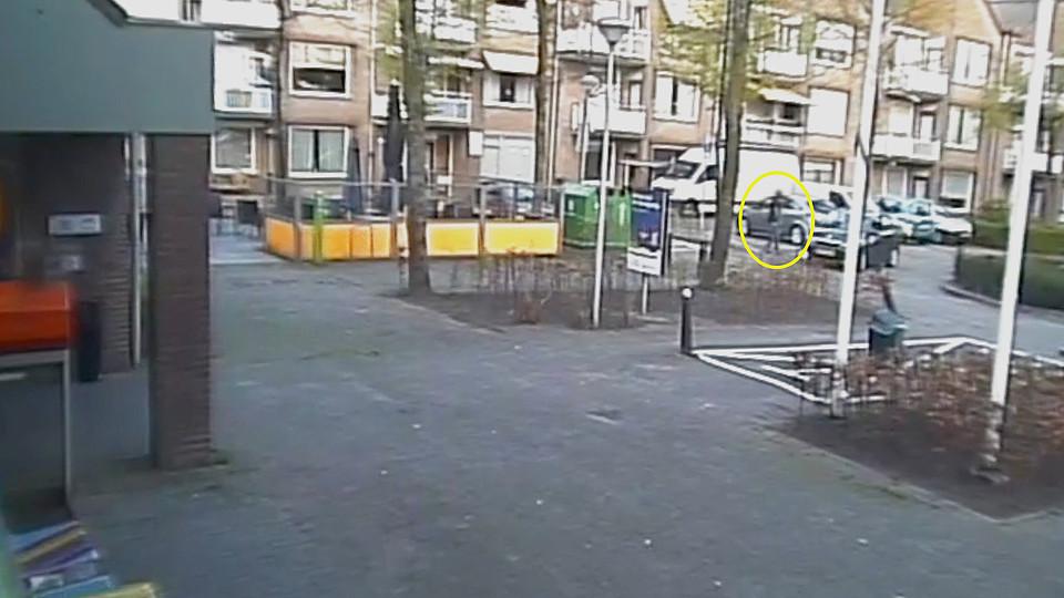 Beelden van bestelbus die mogelijk is gebruikt bij drugsdumping Tilburg