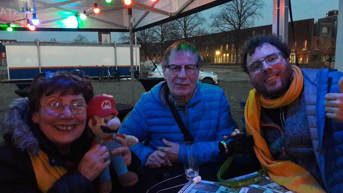 Familie Russo van de kapsalon uit de Kruidenbuurt in Eindhoven.