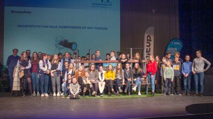 Sportkampioenen gehuldigd in Den Egger