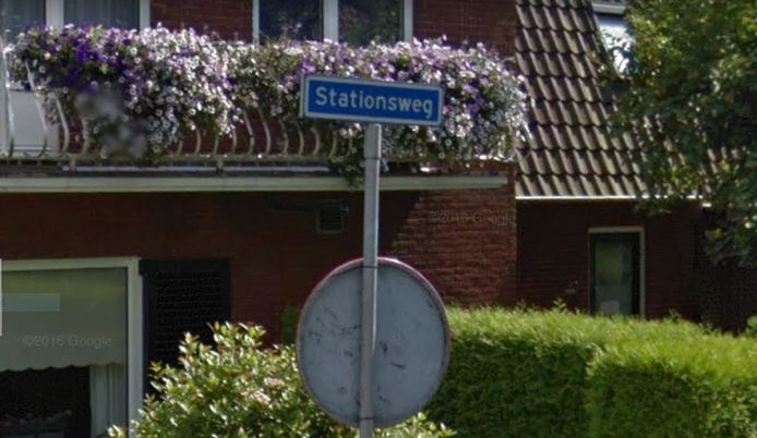 De Stationsweg in Enter.