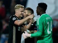 Van de Beek over Benfica: 'Ze bleven maar zuigen en irriteren'