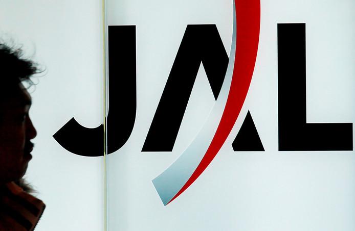 Het logo van Japan Airlines