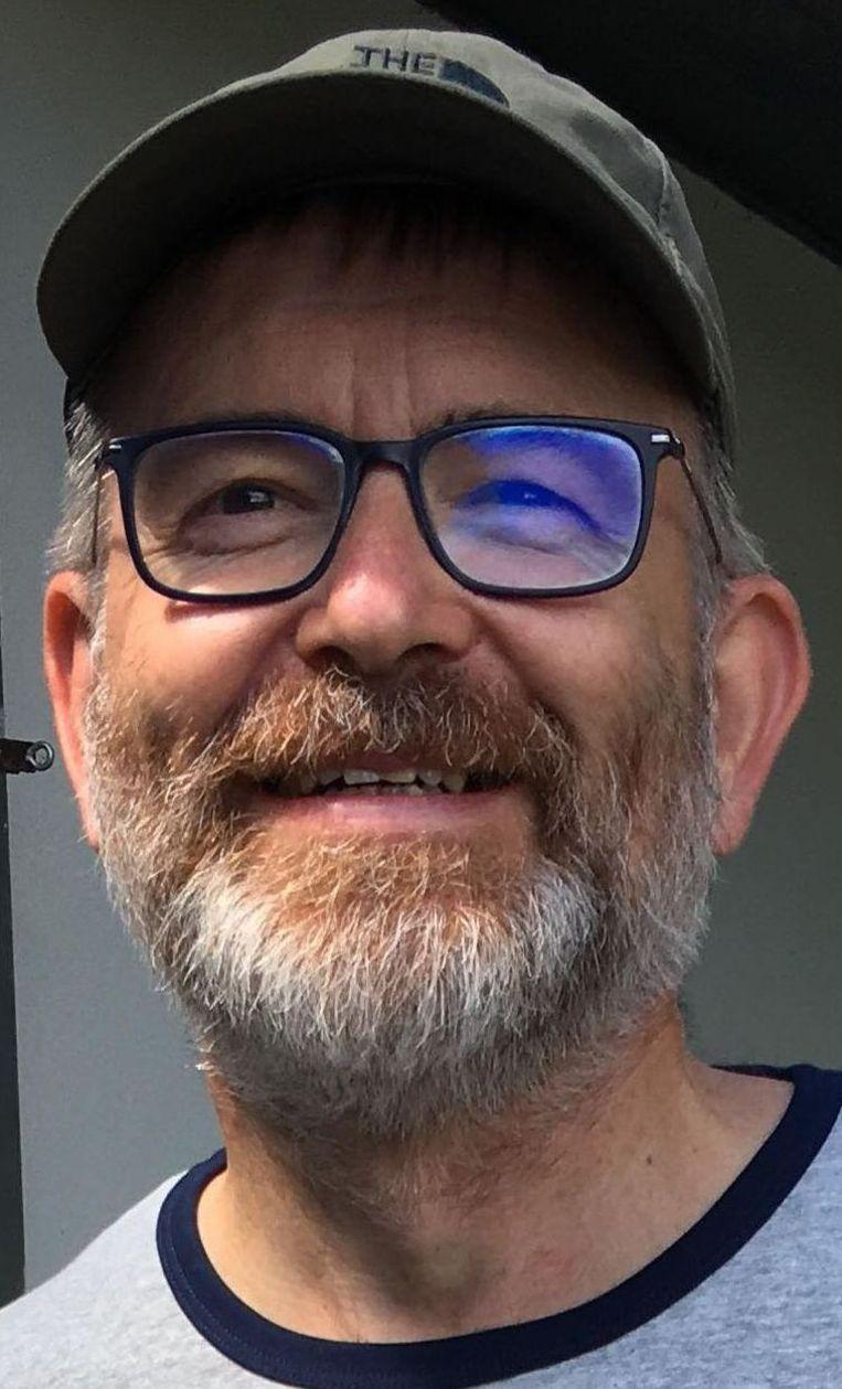 Auteur en bioloog Kris Struyf.