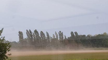 Dreigend onweer in Maasland, temperatuur zakt naar 29 graden