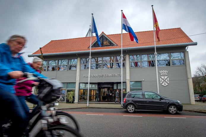 Het gemeentehuis van Wijchen.