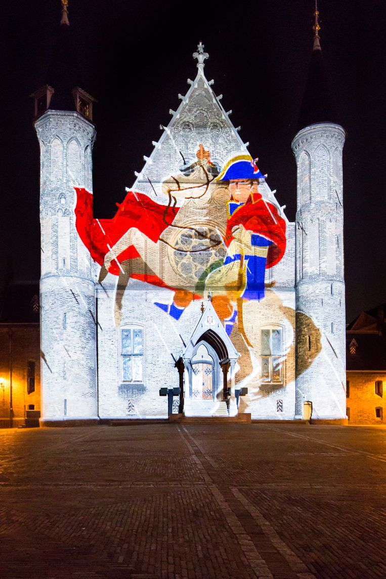The Hague HighLights: lichtevenementen zetten Den Haag in november en december in de spotlights. Beeld Anne Reitsma