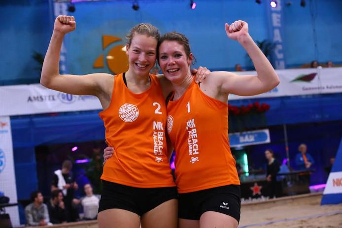 Juliette van Duijnhoven en Floor Berden