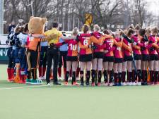 Hockey even bijzaak voor winnende hockeysters Oranje-Rood