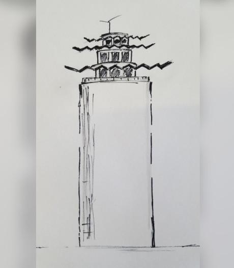 Terneuzen mijmert over watertoren: een schets is leuk, maar het ontwerp moet wel gebouwd kunnen worden