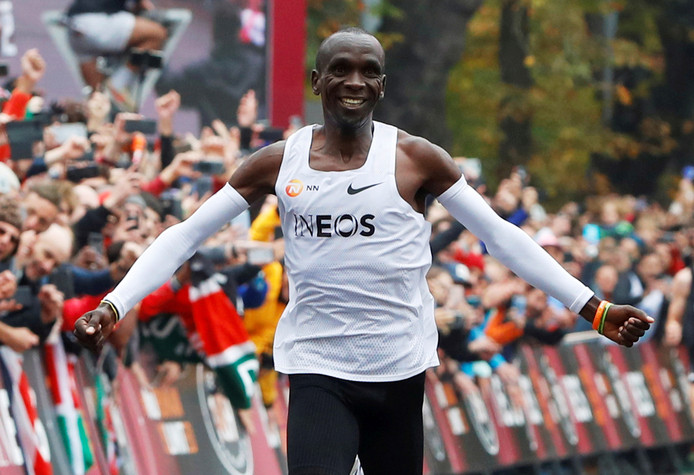 Marathonloper Eliud Kipchoge.