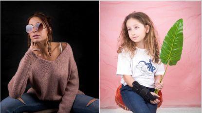 Kirsten Janssens start eigen webshop en schakelt dochtertje in als model