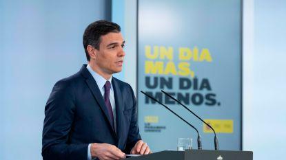 Spanje verlengt noodtoestand nog één keer met 15 dagen