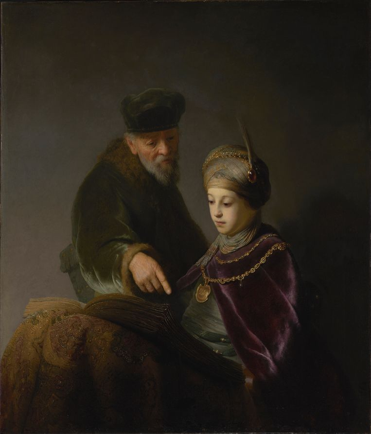Prince Rupert and his tutor, by Rembrandt