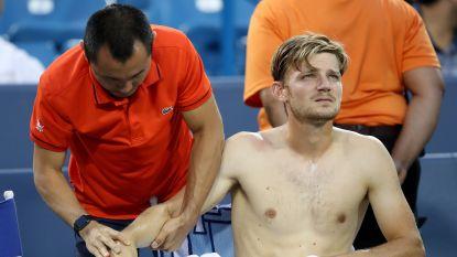 Goffin moet in halve finale tegen Federer de handdoek werpen door schouderblessure, maar is niet ongerust voor US Open