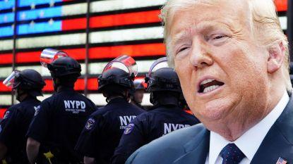 New York bezuinigt 1 miljard dollar op politie, maar Trump is daar niet mee opgezet