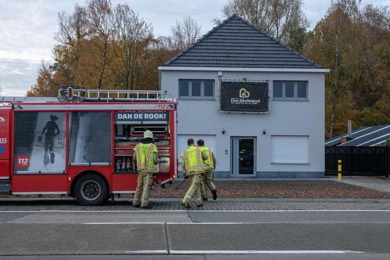 In de swingersclub Den Biechtstoel werd maandagmiddag een zwaar waterlek vastgesteld.