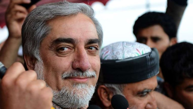 Abdullah Abdullah Beeld afp