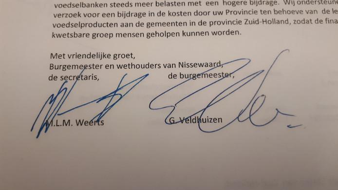 Govert Veldhuijzen. Ook de gemeente Nissewaard heeft moeite met z'n naam...
