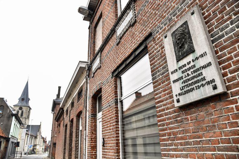 Mevrouw Courtmans is voorlopig de enige vrouwelijke inwoner van Dendermonde die een straat en park naar zich genoemd kreeg.