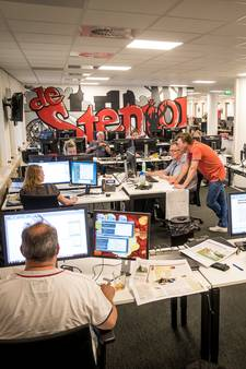 Dit gebeurt er achter de schermen bij de Stentor: 'Nieuws gaat je soms niet in de koude kleren zitten'