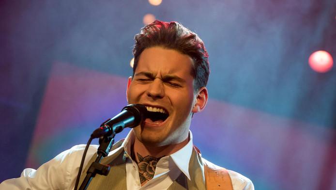 Douwe Bob is een van de artiesten die Rotterdam gaat opwarmen voor de MTV EMA.