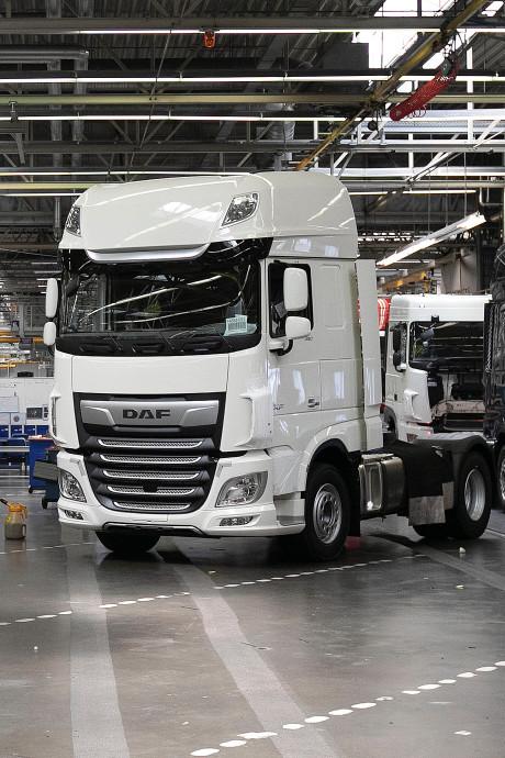 250 vrachtwagens per dag: niet eerder maakte DAF er zó veel