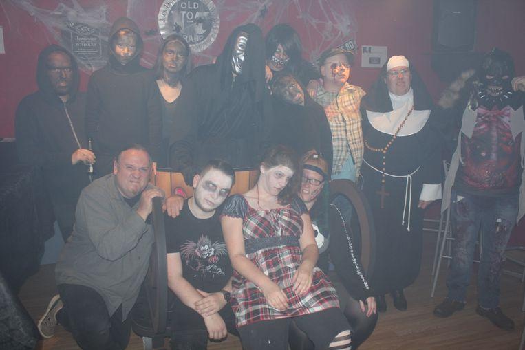De acteurs van The Horror Maze