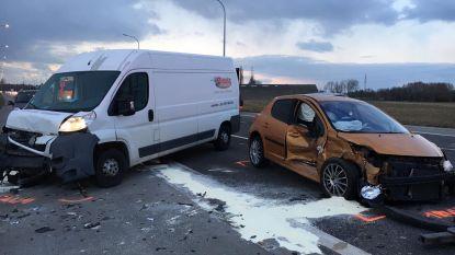 18-jarige gewond na crash tijdens avondspits