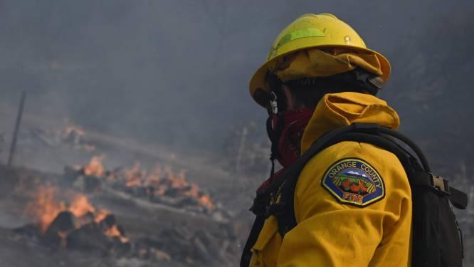 Tienduizenden mensen geëvacueerd in Californië wegens bosbrand