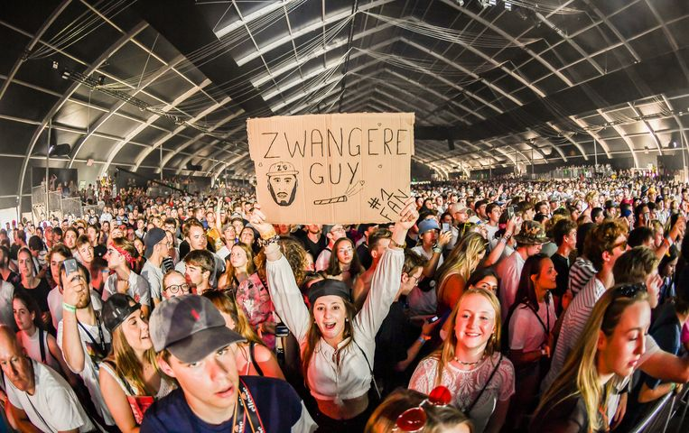 WERCHTER, BELGIUM - JUNE 27 : Zwangere Guy  pictured at Rock Werchter 2019 in The Barn on June 27, 2019 in Werchter, Belgium, 27/06/2019 ( Photo by Joel Hoylaerts / Photonews )