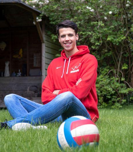 Lange middenman Martijn Rijksen wil nu doorgroeien