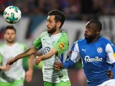 Wolfsburg rekent af met Holstein Kiel en handhaaft zich in Bundesliga