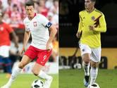 Bayern-clash in Kazan tussen Lewandowski en James